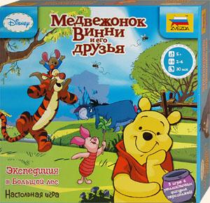 Настольная игра «Медвежонок Винни: Экспедиция в Большой лес»